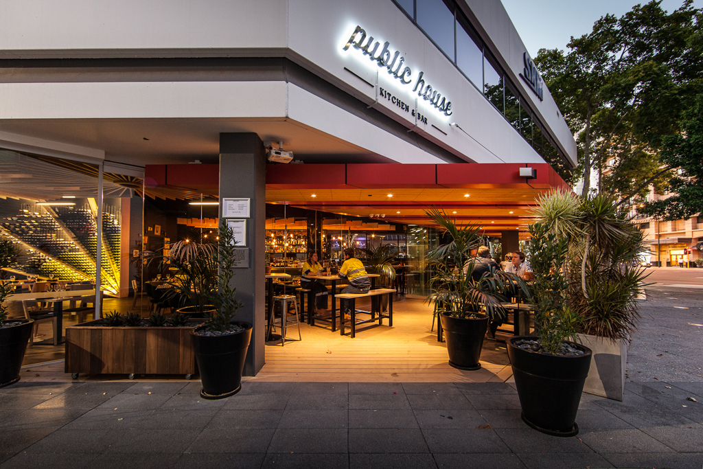 Hospitality Fitout  263 Adelaide Terrace Perth WA 6004_Commercial Fitout_Public