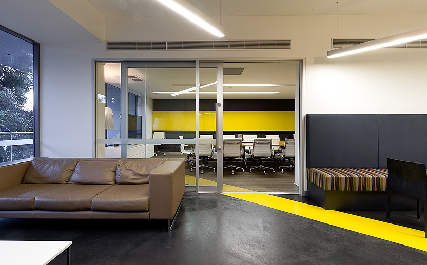 Gatecrasher - Office Fitout - By Habitat 1