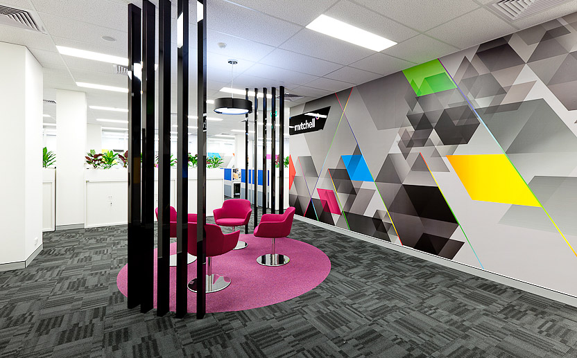 Office Interior Design By Habitat 1