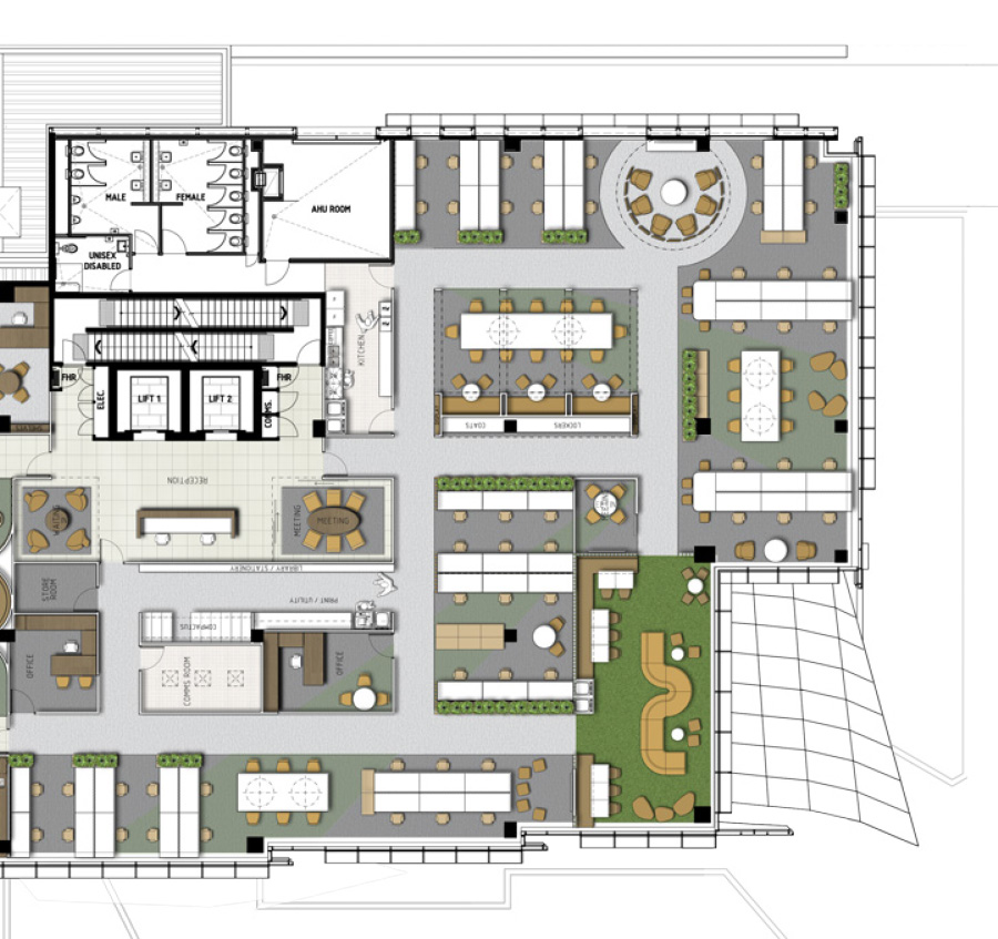 Floor Plan by Habitat 1